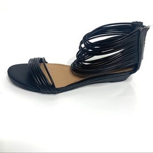 Kelsi Dagger Camellia Strappy Sandals Black